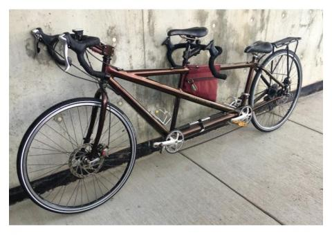 2002 CUSTOMIZED CANNONDALE TANDEM-LARGE /SMALL